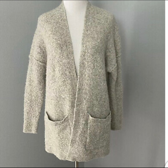 Free People Mohair Blend Cardigan